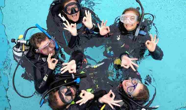 open water padi course
